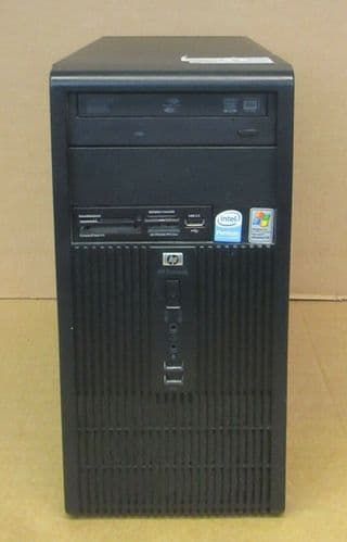 HP Compaq dx2300 MicroTower Pentium E2160 1.8GHz 2GB Ram 500GB HDD PC GD997ET